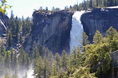 Vernal Falls from another angle, 2010
