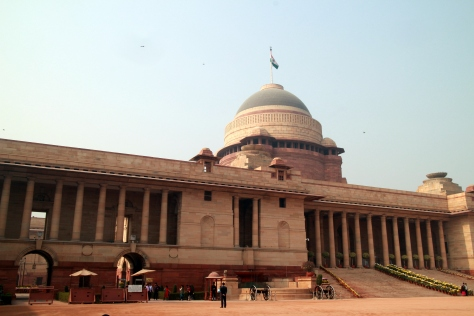 Indian President's house- Rashtrapati Bhavan