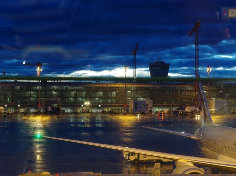 Morning at Munich, Germany airport