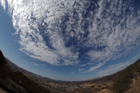 Simi Valley with a Fish eye lens